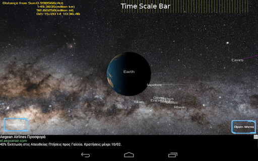 Solar System 3D Viewer screenshot 2