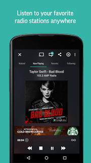 Tunein Radio screenshot 2