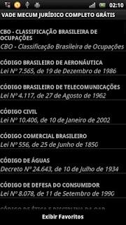 Vade Mecum Juridico Completo screenshot 2
