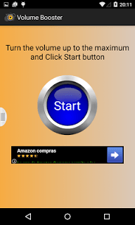 Volume Booster Amplifier 2016 screenshot 1