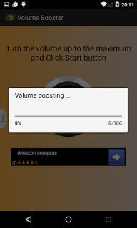 Volume Booster Amplifier Pro screenshot 2